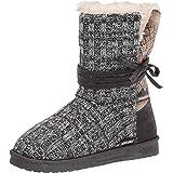 MUK LUKS Women's Clementine Boot-Dark Grey Fashion