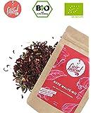 Premium Bio Teemischungen von Fairment®, für Kombucha geeignet, 100g (Hibiskusblüte)