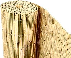 """Schilfrohrmatten Premium """"Beach"""", 200 hoch x 600cm breit, ein Produkt von bambus-discount - Sichtschutz Matten Windschutzmatten …"""