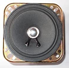 3 inch Square Speaker, 1.5 Watt Speaker, 8 ohm Used in TV Basically (Pack of 4)