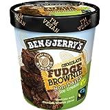 Ben & Jerry's Non-Dairy Ice Cream Chocolate Fudge Brownie, 500ml (Frozen)