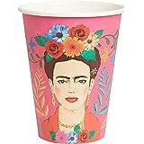 Talking Tables Boho Mix Tasse, papier, Multicolore, (Paquet de 8)
