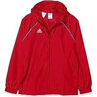 adidas Core18 Rain Jacket Giacca Sportiva. Unisex - Bambini