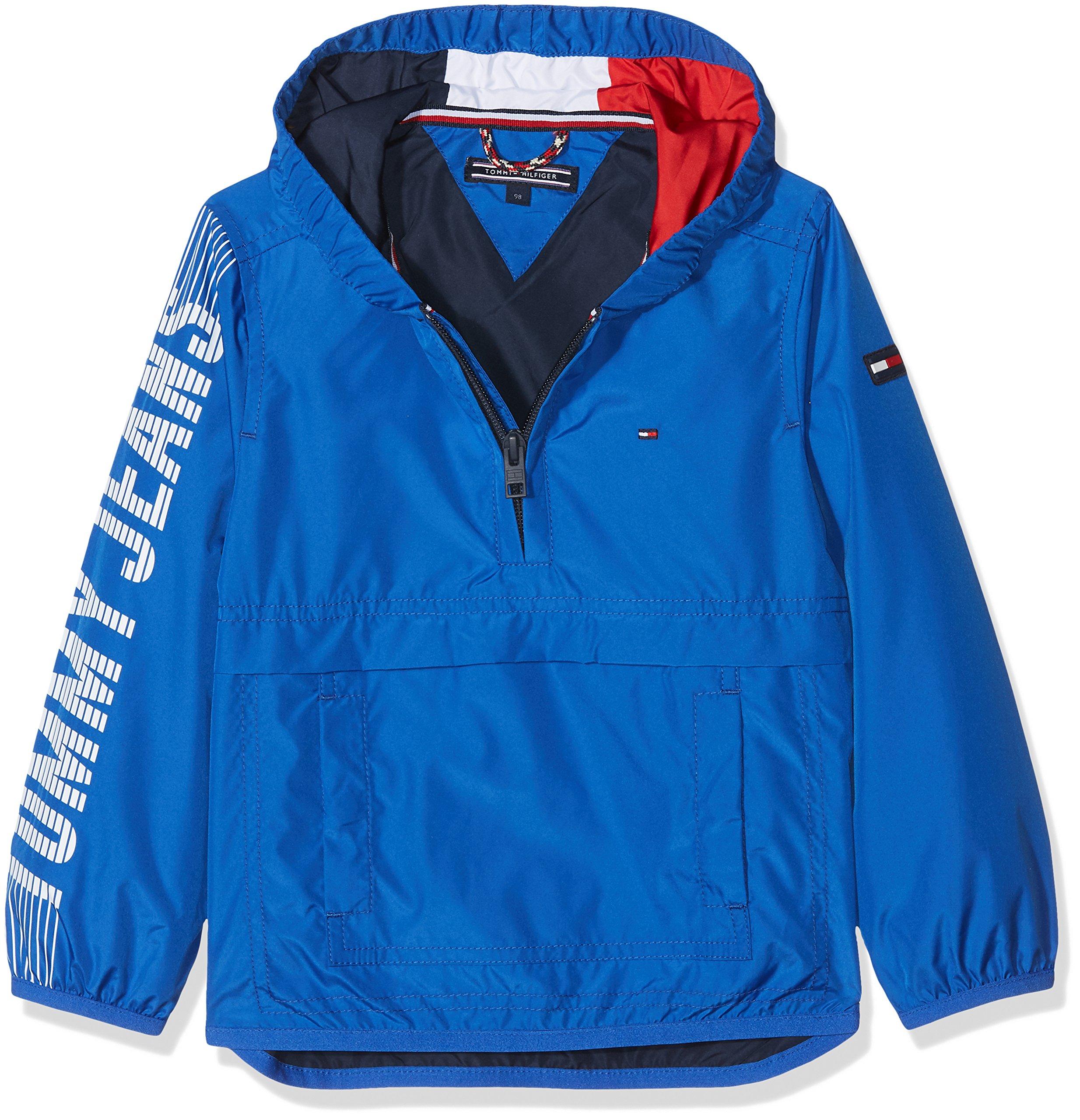 Tommy Hilfiger S Hooded Pop Over Jacket Chaqueta para Niños