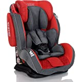 LCP Kids Auto Kindersitz GT 9-36 kg - Liegefunktion - verstellbare Kopfstütze Gr. 1 2 3