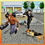 Police Dog Crime Patrol Sniff