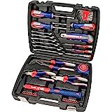 kwb 370733 Maletín de herramientas con puntas de atornillar, 42 piezas, relleno, resistente y de alta calidad, ideal para el
