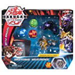 Bakugan Battle 5-Pack Darkus Hydorous & Aurelus Gargarnoid Collectible Cards & Figures