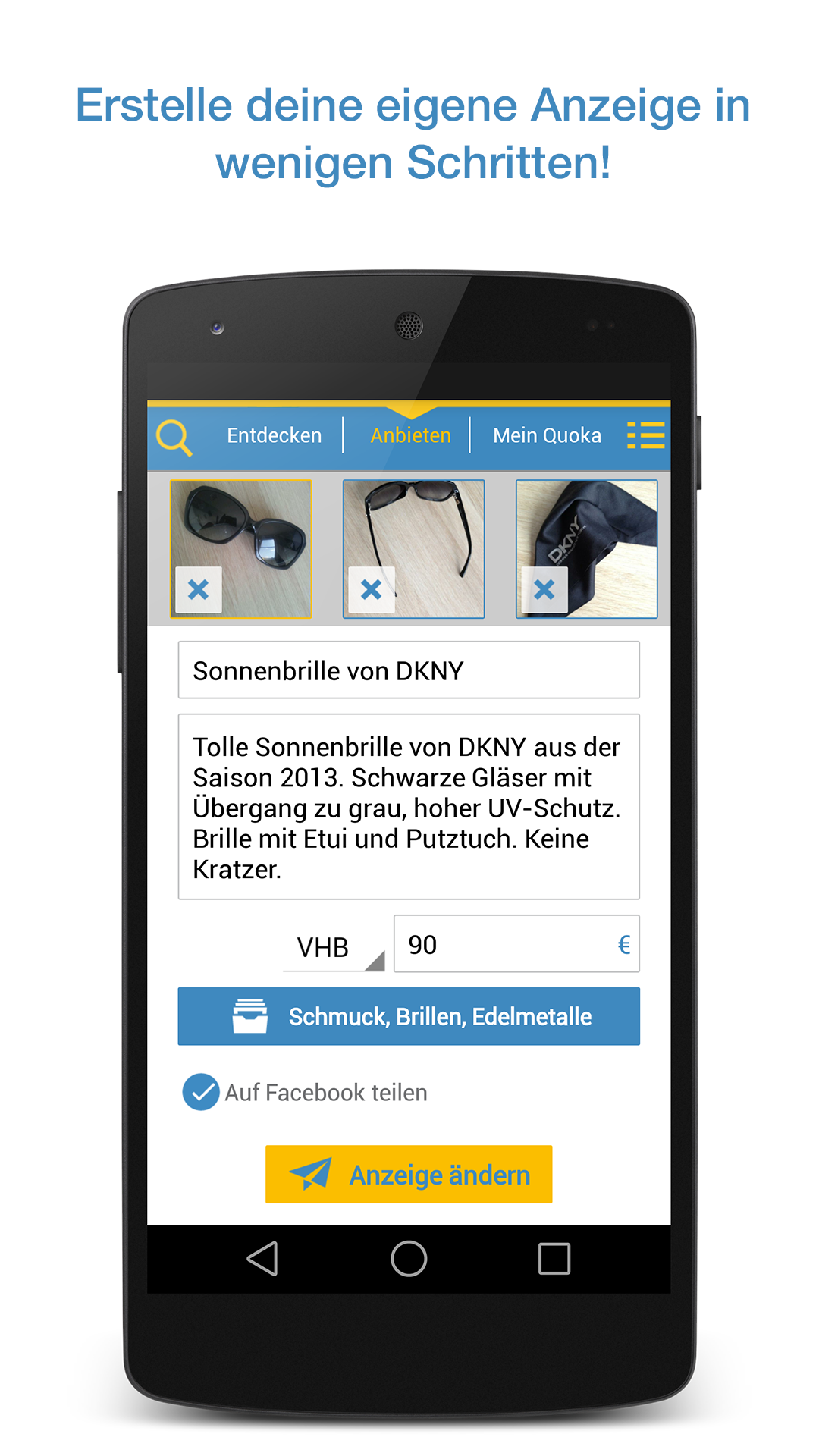 Quoka Kleinanzeigen Flohmarkt: Amazon.de: Apps für Android