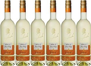 Maybach Riesling QbA Weißwein Süß und Fruchtig (6 x 0.75 l)