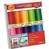 Gutermann 734008-1 schroefdraadset Naai-All 100 m x 10 rollen