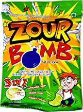 Zour Bomb Lime Candy, (Pack of 2) 110g