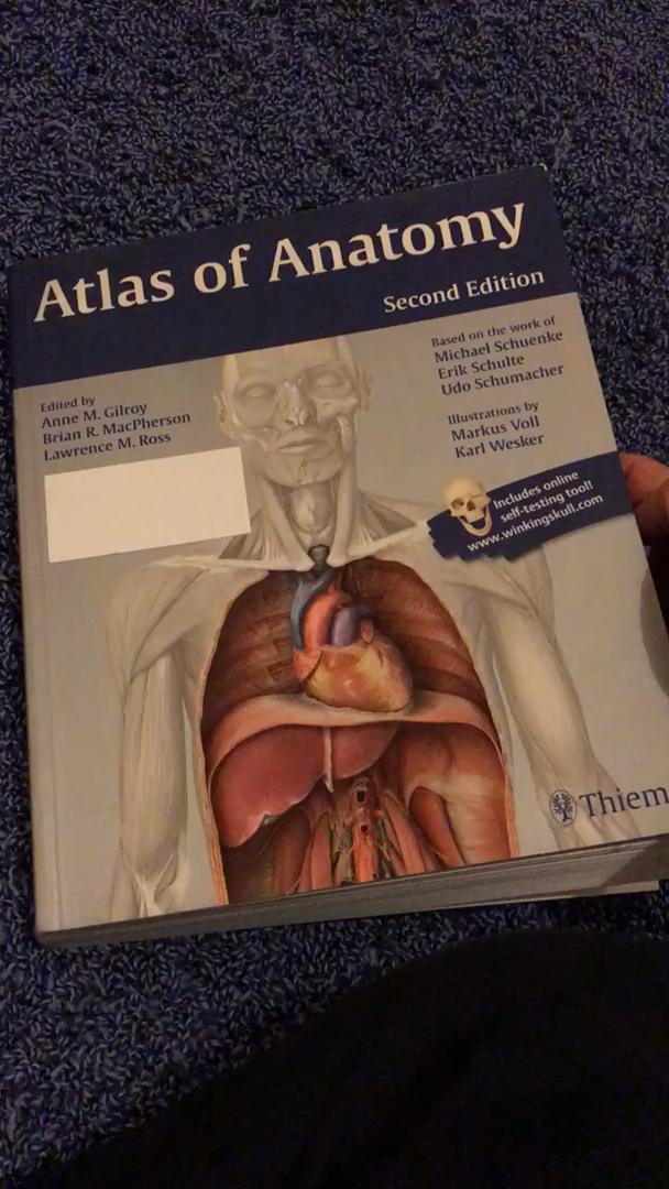 Atlas of Anatomy: Amazon.co.uk: Anne Gilroy: 9781604067453: Books