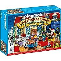 PLAYMOBIL Adventskalender 70188 Weihnachten im Spielwarengeschäft mit liebevollen Figuren und Zubehörteilen hinter jedem…