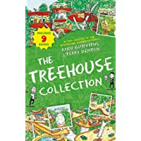 The Treehouse Storey Books 9 Collection Set by Andy Griffiths (13-Storey, 26-Storey, 39-Storey, 52-Storey, 65-Storey, 78…