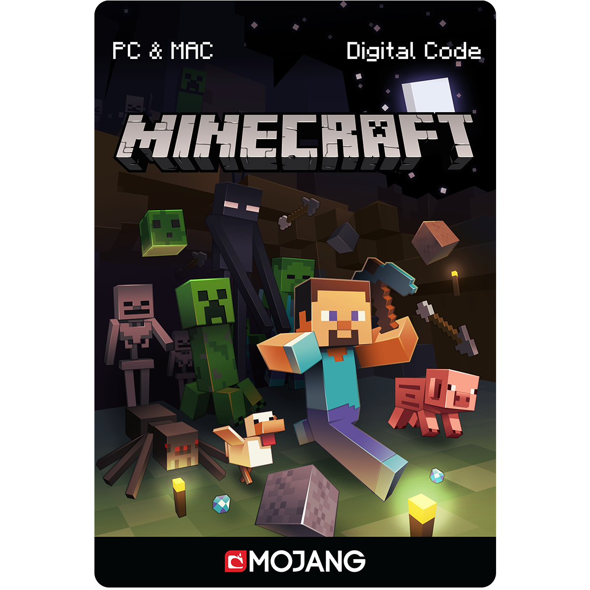 Minecraft for PC/Mac [PC Code - Kein DRM] Standard -