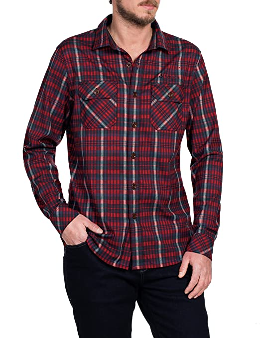 VAUDE Jerpen Men's Shirt Long-Sleeved Shirt: Amazon.co.uk: Sports & Outdoors