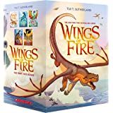 Wings of Fire Boxset, Books 1-5 (Wings of Fire): The Dragonet Prophecy / The Lost Heir / The Hidden Kingdom / The Dark Secret