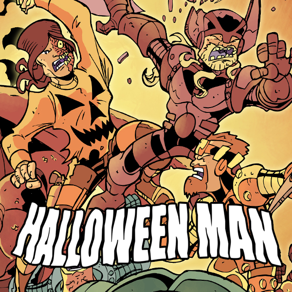 Halloween Man (Issues) (14 Book Series)