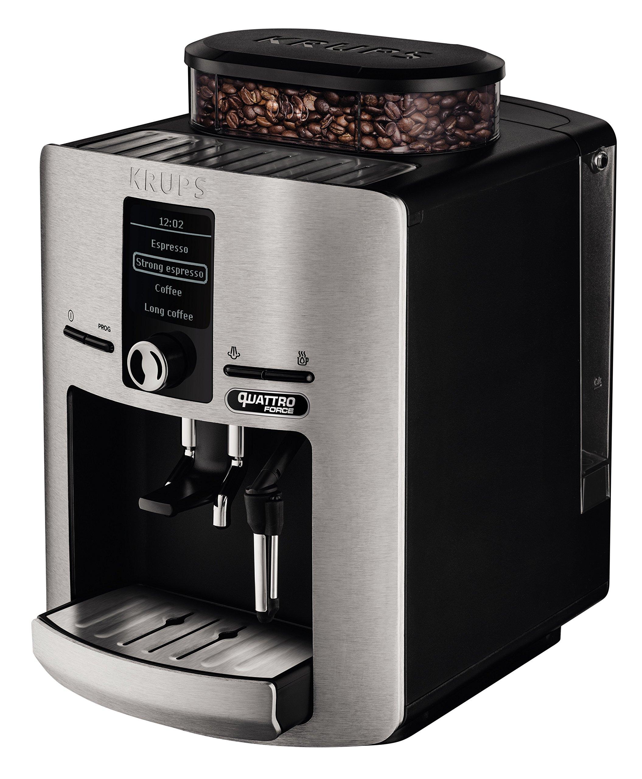 Krups-Espresseria-QF–Kaffeemaschine-super-automtica-silber