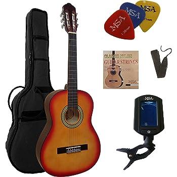 Akustische Gitarren Classic Cantabile As-851 4/4 Konzertgitarre Natur akustikgitarre, Geeignet...