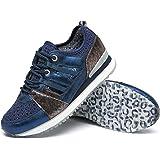 katliu Zapatillas de mujer, zapatos con cordones huecos, 21193-13