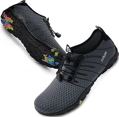 SIMARI Mens Womens Water Shoes Sports Quick Dry Barefoot Diving Swim Surf Aqua Walking Beach Yoga WP001