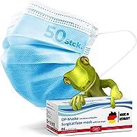 kela, 50 Stck. OP - Maske blau 100% Made in Germany, medizinische Mund- Nasenschutzmaske, chirurgische Einweg-Maske, CE…