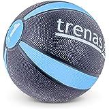 TRENAS Rubberen medicijnbal PRO - De professionele medicijnbal - 1 tot 5 kg