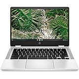 """HP Chromebook X360 14A 14a-ca0003ns - Ordenador portátil de 14"""" FullHD Táctil (Celeron N4020, 4GB de RAM, 64GB Emmc, Intel Uh"""