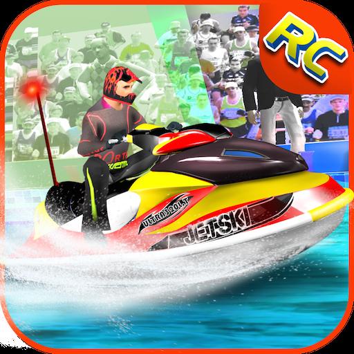 Extrem RC Jetski Simulator Abenteuer 3D: Jet Ski Driving Sim Remote Xtreme Racing Simulationsspiele Kostenlos Für Kinder 2018 Quad-remote