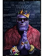 Good Hope Thanos Artwork Design Avengers Infinity War Poster (Matte Paper, 13 X 19 Inch, Multicolour)