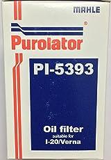 Purolator 5393 Oil Filter for i20 Verna Diesel Models