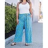 The Drop Pantalones Holgados Sin Cierre por @Caralynmirand - Pants Mujer