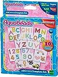 Aquabeads 30518 ABC und 123 Vorlage Bastelset Schule