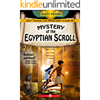 MYSTERY OF THE EGYPTIAN SCROLL: Kids Historical Adventure (Kid Detective Zet Book 1)