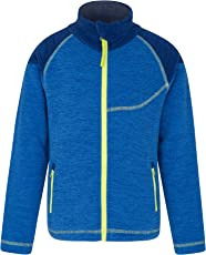 Mountain Warehouse Snowdonia Fleecejacke für Kinder - Weichee sportliche Jacke, leicht, schnelltrocknend, Taschen, pillingfreies Oberteil, praktisch - Für den Alltag
