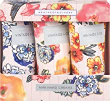 Vintage & Co 30ml Patterns and Petals Mini Hand Creams (Pack of 3)