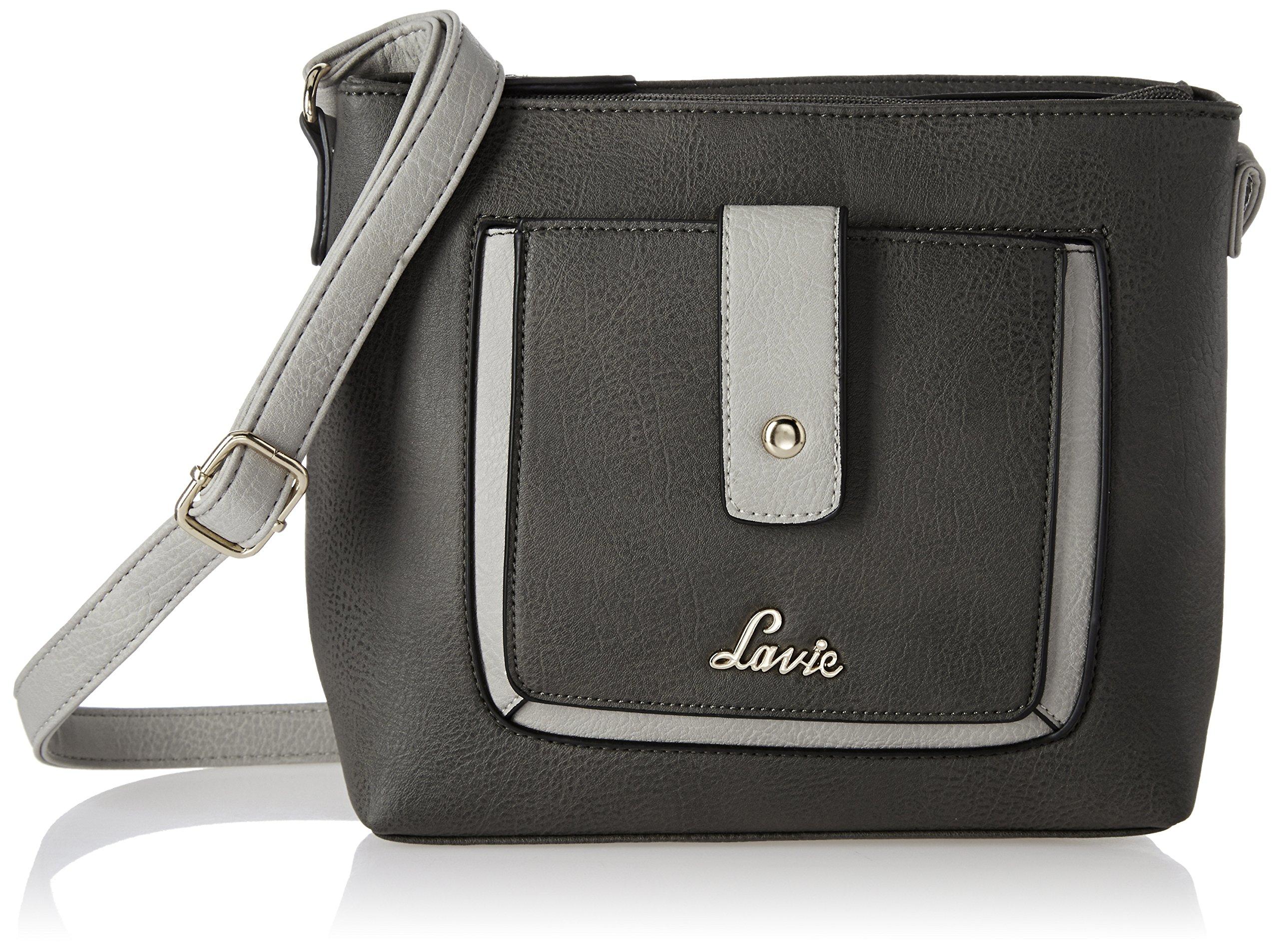 Lavie Jeffrey Women s Sling Bag (Dk.Grey) - Gia Designer f695ca67c1c35