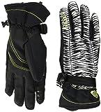Roxy Damen Jetty-Snowboard/ski Gloves, Anthracite, XL