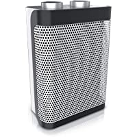 Brandson - Keramik Heizlüfter - 2 Leistungsstufen - stufenlose Temperaturregelung - 1500 Watt - Heizlüfter Badezimmer…