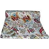 Mudit Crafts Cotton Jaipuri Floral Printed Dress Making Running Suit Fabric (3, Multicolored 4)