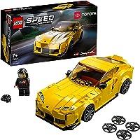 LEGO Speed Champions Toyota GR Supra, Macchina Giocattolo per Bambini di 7 Anni, Auto Sportiva da Corsa con Pilota…
