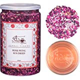 The Indian Chai - Rose Petals Sun Dried for Beautiful Hair & Skin 100g