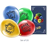MC SID RAZZ Harry Potter Birthday Party / Theme Party / Latex HD Balloons for Decoration [ Set of 20 ] Best Gift Set…