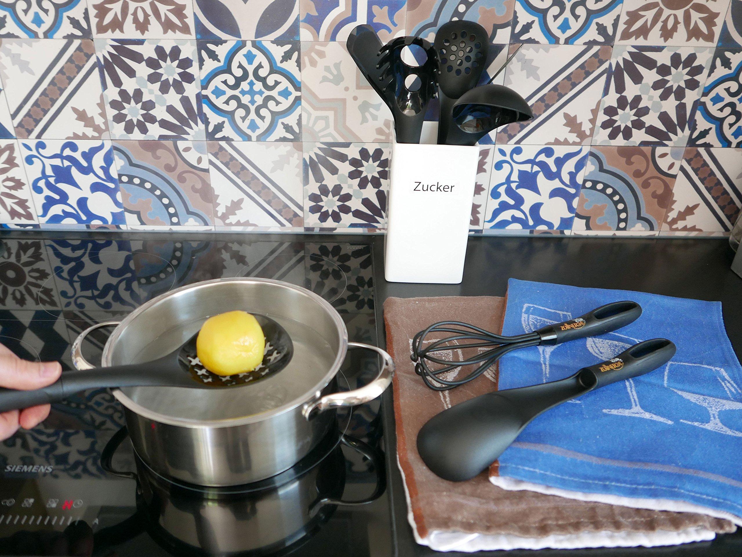 ZOLLNER24 Set di 8 Utensili/Accessori da Cucina in Silicone ...