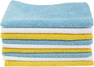 AmazonBasics Microfiber Cleaning Cloth - 222 GSM (Pack of 144)