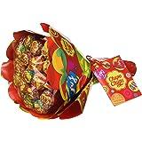 Chupa Chups Flower Bouquet, Lollipop Gusti Frutti Assortiti al Limone, Arancia, Fragola, Mela, Anguria e Ciliegia, Bouquet da