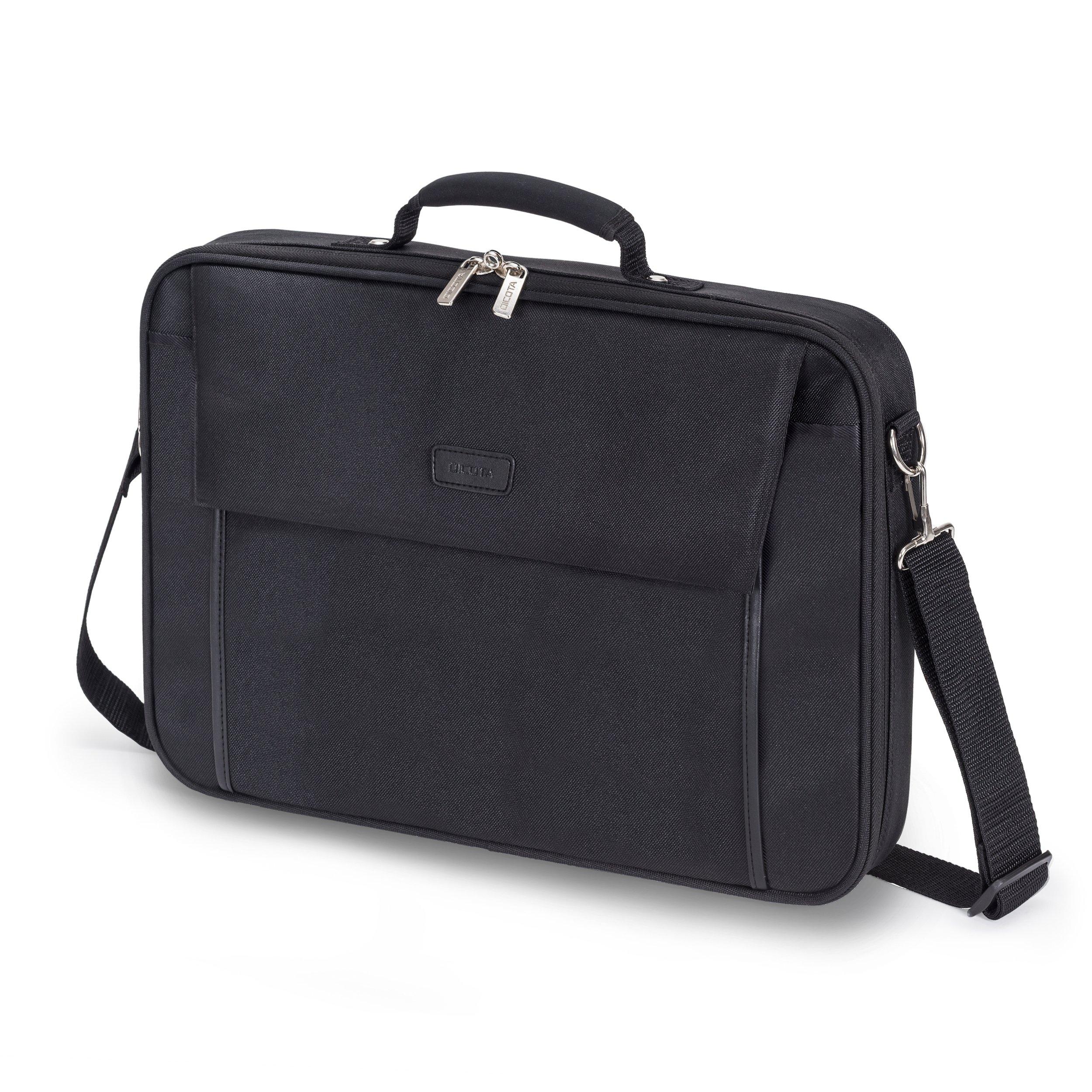Dicota Base 16-17.3 17.3 Briefcase Black - notebook cases (43.9 cm (17.3), Briefcase, Black, 83
