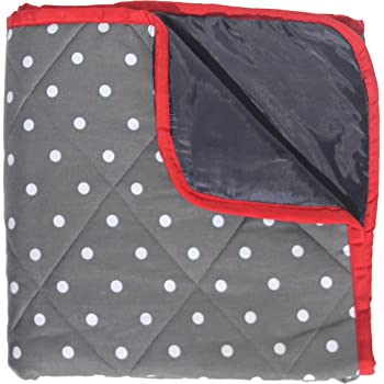 Baby Play Mat With Waterproof Backing Baby Navy Padded